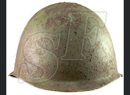 Steel helmet SSH39 / from Stalingrad