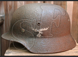 Helmet M35, Luftwaffe / from Voronezh