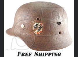 Waffen SS Helmet of Wiking Division
