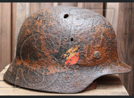 Helmet M35 Luftwaffe / from Leningrad