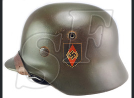 Helmet M35, Hitler Youth / Restoration