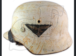 Helmet M35, Luftwaffe / Restoration