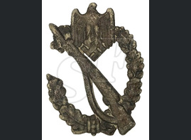 Infantry Assault Badge in steel / from Koenigsberg