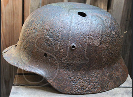 German helmet M35 / from Tver
