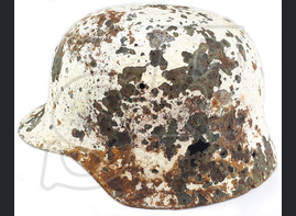 Winter camo helmet М35 / from Stalingrad