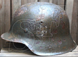 Wehrmacht helmet М42 / from Velikiye Luki
