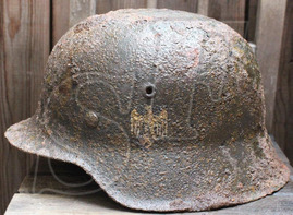 Wehrmacht helmet М42 / from Koenigsberg