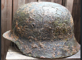 Luftwaffe helmet М35 / from Koenigsberg