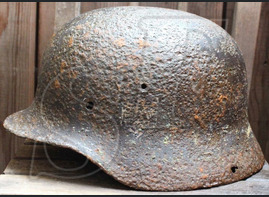 Wehrmacht helmet М35 / from Velikiye Luki