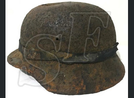 German helmet М35 / from Smolensk