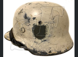 Winter camo helmet M35 / from Novgorod
