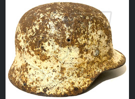 Winter camo helmet M35 / from Stalingrad