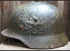 Luftwaffe helmet M35 / from Novgorod