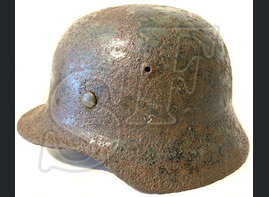 Luftwaffe helmet M35 / from Stalingrad