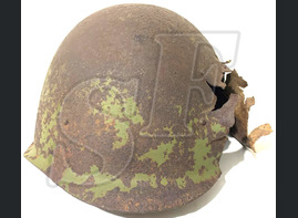 Soviet helmet SSh40 / from Vyazma