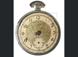 Pocket watch with owner name