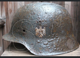 Wehrmacht helmet M42 / from Moscow