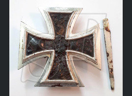 "Iron cross 1st class from village ""Rudnya"""