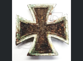 "Iron cross 1nd class from the village ""Novaya Nadezhda"" (Stalingrad region)"