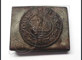 "Buckle ""Gott Mit Uns"" sample 1916/1918"