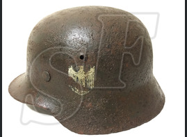 Steel helmet M35 from Stalingrad