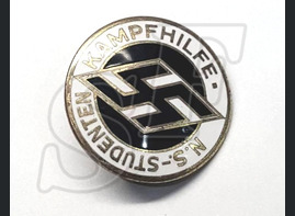 "National Socialist League of the German Students' ""N.S. Studenten Kampfhilfe"" badge"