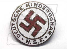 N.S.F. Deutsche Kinderschar Membership Badge