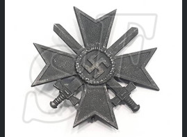War Merit Cross 1st class with swords from Stalingrad