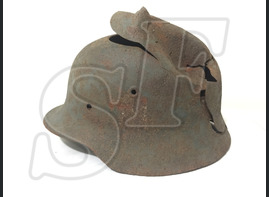 Steel helmet M40 from Mamayev Kurgan