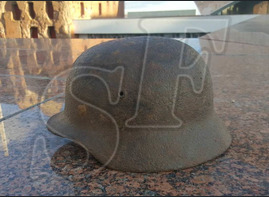 German helmet M40 from North Of Stalingrad