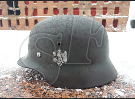 German steel helmet M35 from Krasnoye Selo