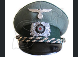 Cap of an officer of the Wehrmacht