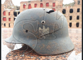 German steel helmet M35 from Kharkov