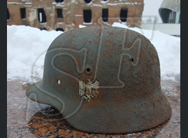 German helmet M40 from Stalingrad