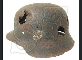 German helmet M42 from Rzhev