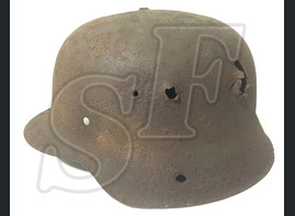 German helmet M42 from Stalingrad