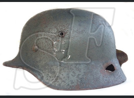 German helmet M35 from Kharkov