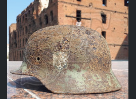 German helmet M35 from Moscow