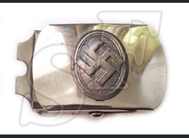 Miniature NSDAP trouser buckle