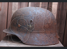 German helmet M40 from Kharkov