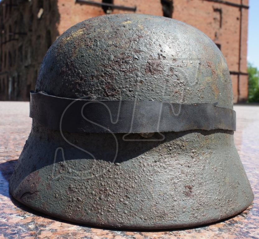 German helmet М35 from Stalingrad