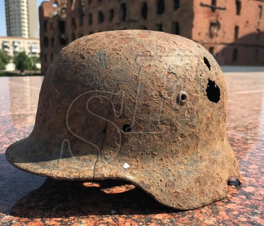 German helmet М35 from Rostov-on-Don