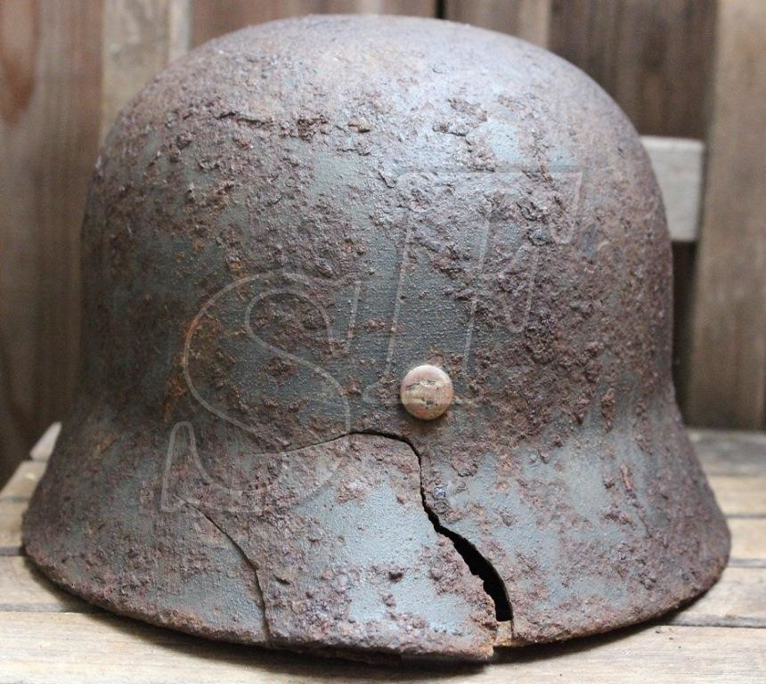 German helmet M40 from Koenigsberg