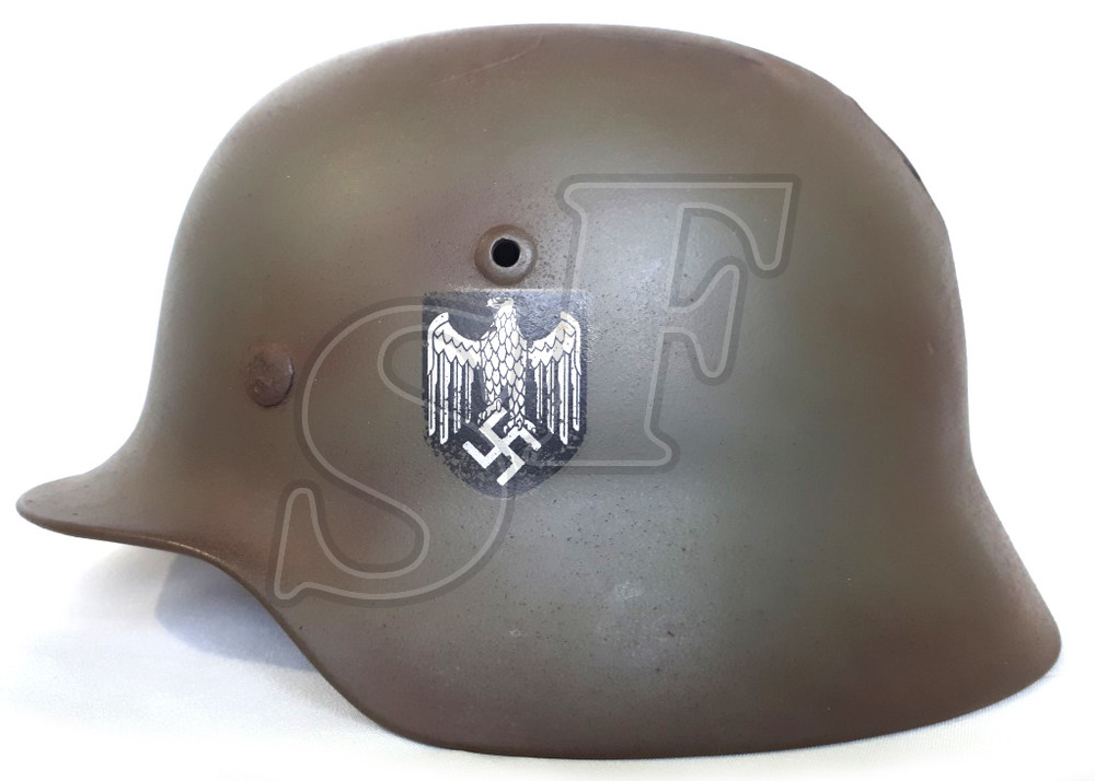Steel helmet M35 from Stalingrad (Restoration)