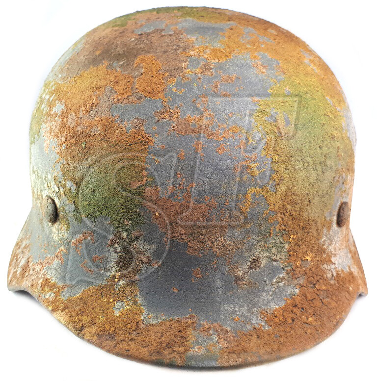Helmet M40, Luftwaffe / Restoration