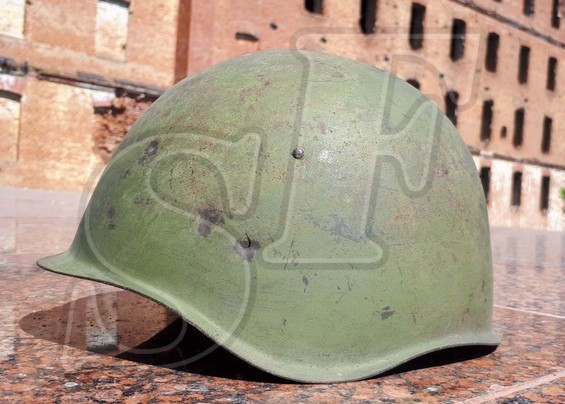 Soviet helmet SSh-39 from village Peskovatka