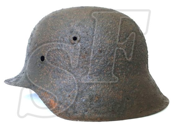German helmet М42 from Kursk-Oboyan
