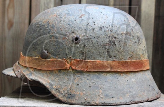 German helmet М35 from Kiev