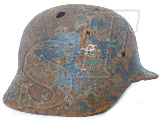 German helmet М35 from Smolensk