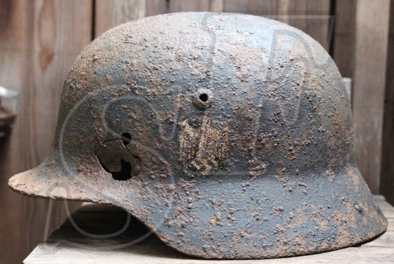 German helmet М35 from Moscow